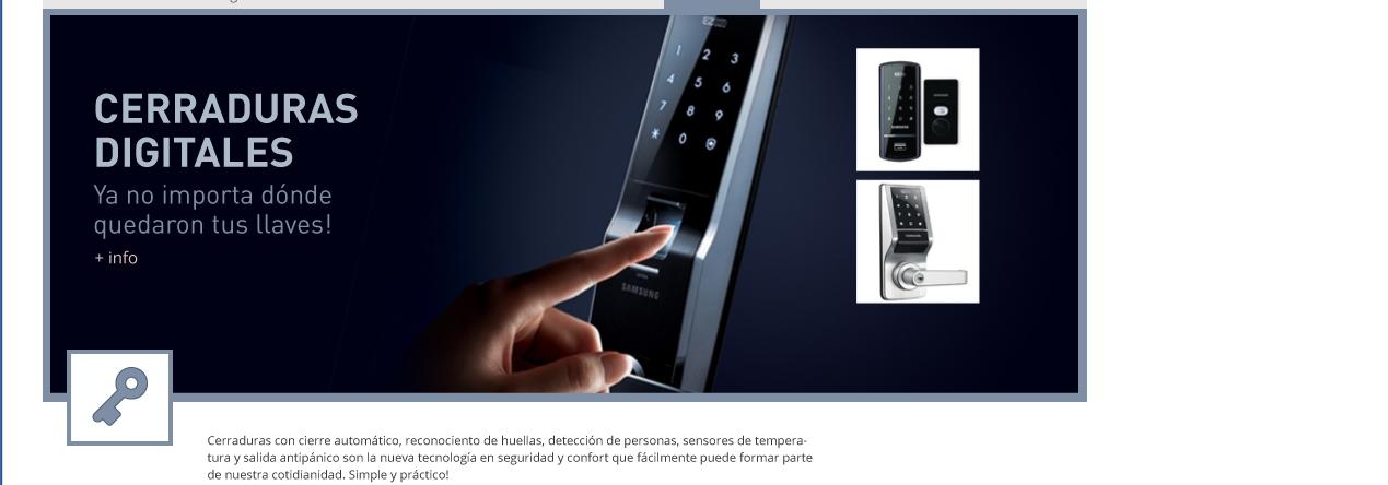 cerraduras biométricas