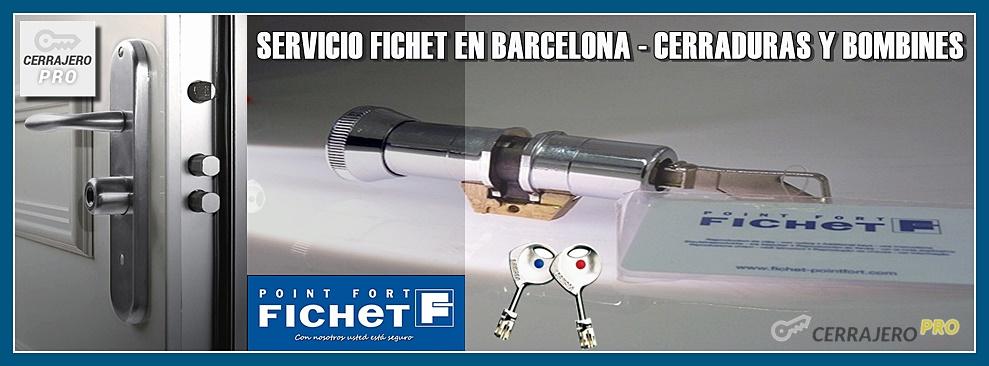 CERRADURAS FICHET BARCELONA