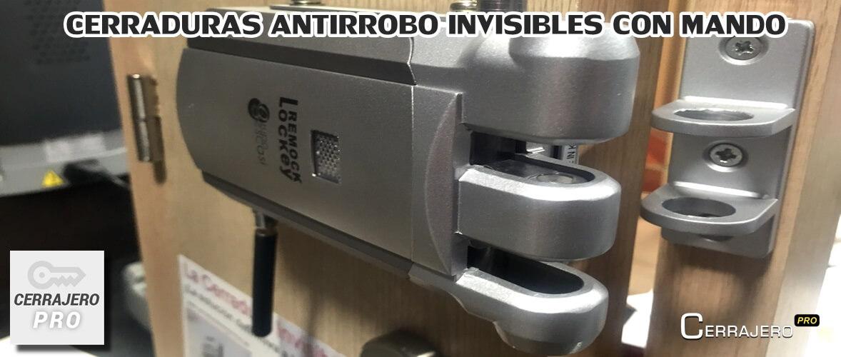 cerraduras invisibles con mando barcelona