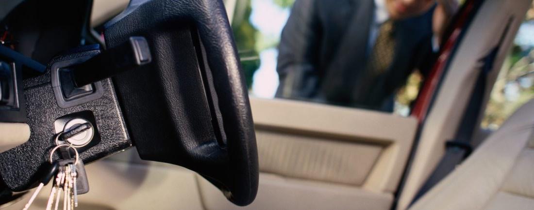 llaves dentro coche