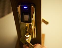 cerraduras biometricas futuristas