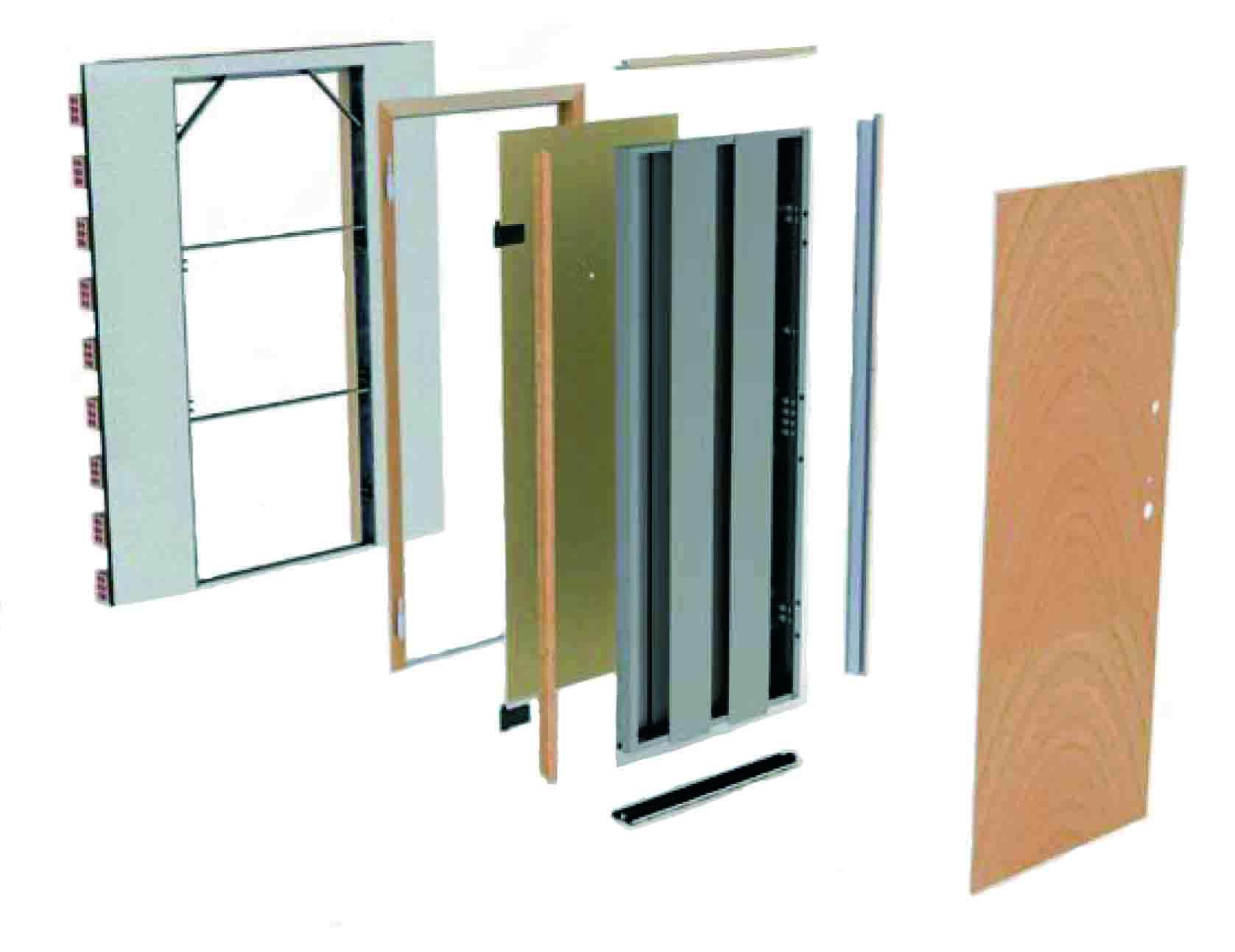 componente puerta acorazadas