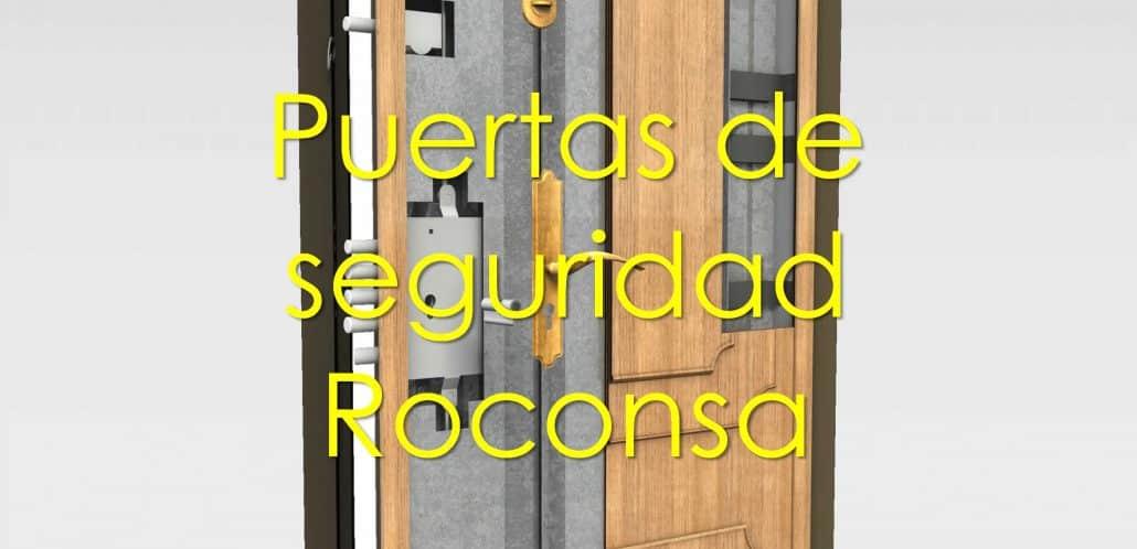 puertas de seguridad roconsa