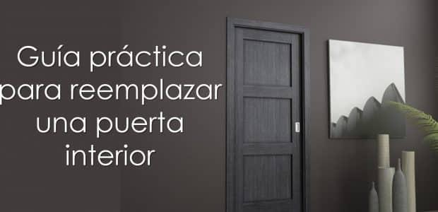 Guía práctica para reemplazar una puerta interior