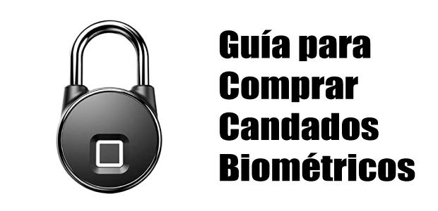 guía candado biométrico