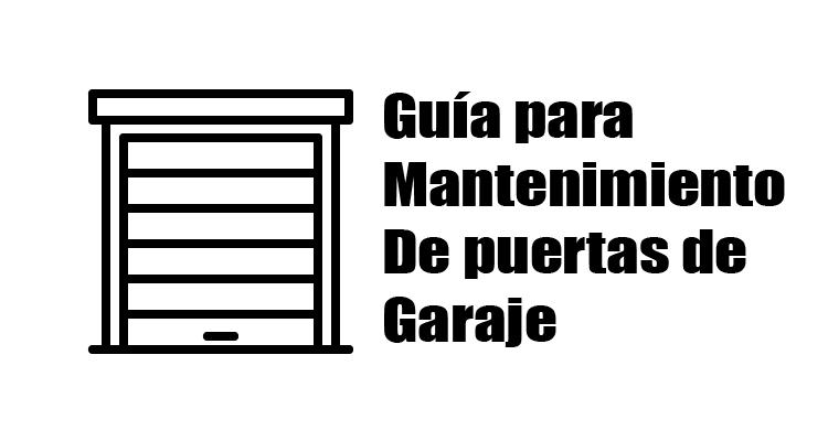 guia puertas garaje